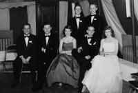 1950 du Pont family reunion group portrait, Print No. MI-10