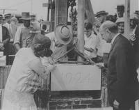 Cornerstone ceremony at Chester County Hospital