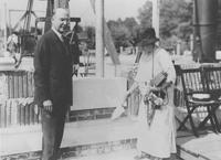 Cornerstone laying ceremony, Chester County Hospital