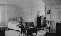 Housekeeper's room, northwest view, in Peirce-du Pont House at Longwood