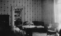 Help's sitting room, north view, in Peirce-du Pont House at Longwood