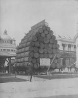 Load of Logs at World's Columbian Exposition