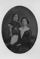 Victorine Elizabeth du Pont Kemble with one of her children