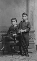 William K. and Henry Belin du Pont as children