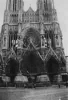 Cathedral de Notre Dame, Paris during World War I