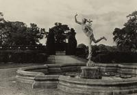Mercury Fountain at Madresville Court, Worcestershire