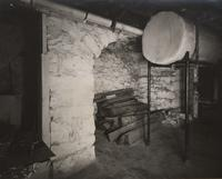 Hearth with stacked wood, Dilwyne Farms