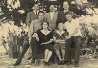 George B. Mahan family