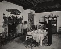 E. I. du Pont, III and Arminda du Pont in Kitchen at Eleutherian Mills