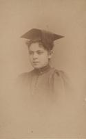 Alice Belin (du Pont) graduation portrait