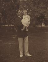 Horace Conner and baby