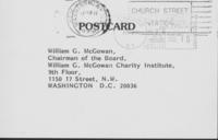 Barbara Stein to William G. McGowan