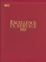 Excellence in Service 1983