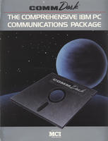 CommDisk, The Comprehensive IBM PC Communications Package