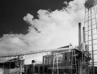Nylon plant powerhouse at Martinsville, Virginia