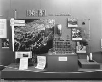 Display about post WWII expansion at DuPont Company exhibit in Atlantic City, New Jersey