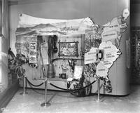 Display of the DuPont story at DuPont Company exhibit in Atlantic City, New Jersey