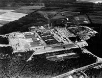 Rayon plant near Richmond, Virginia