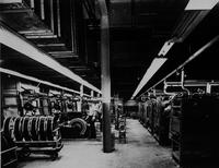 Nylon production plant interior