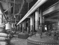 Camphene receivers at the Camphor plant at Deepwater Point, New Jersey