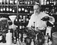 Perfume research at the New Brunswick, New Jersey laboratory