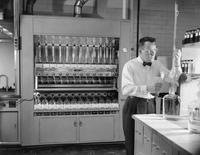 Plastics Department's Technical Service laboratory at Chestnut Run