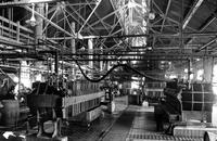 Interior of Chambers Works dye plant at Deepwater Point, New Jersey