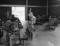 Machine shops at Orlon manufacturing facility