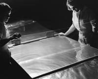Inspecting cellophane cellulose film