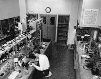 Two man laboratory at E.I. du Pont de Nemours & Company Experimental Station