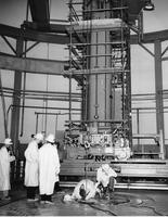 Loading the initial fuel charge in the heavy water components test reactor at the Atomic Energy Commission's Savannah River Plant