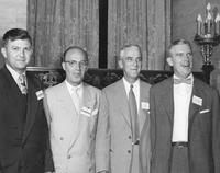 DuPont executives at the 150th anniversary celebration