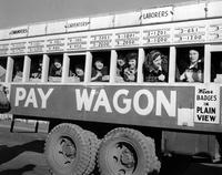 Pay wagon at Hanford Engineering Works
