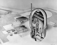 Artist rendering of the Heavy Water Components Test Reactor at Savannah River plant