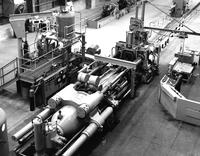Extrusion press at DuPont Metals Center in Baltimore, Maryland