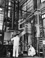 Reactor used in the development of a successful nylon salt process