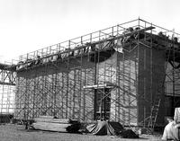 DuPont Chambers Works facilities under construction at Deepwater Point, New Jersey