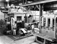 Rolling mill at DuPont Metals Center in Baltimore, Maryland
