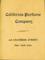 California Perfume Company catalog [1896]