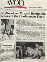 Avon home office newsletter [September 1979]