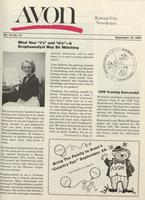 Avon Kansas City newsletter [September 1980]