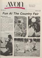 Avon Kansas City newsletter [October 1980]
