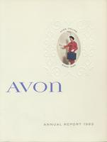 Avon annual report, 1963