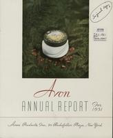 Avon annual report, 1951