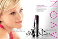 Supercurlacious Mascara advertisement featuring Reese Witherspoon