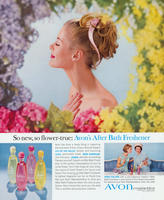 So new, so flower-true: Avon's After Bath Freshener