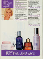 Call Back Brochure Page featuring Vitamin C Collagen Booster