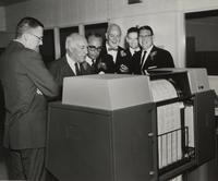 Introduction of IBM Computer Equipment at the Newark, Del. office