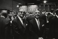 Wayne Hicklin and J.A. Ewald at the New York Stock Exchange