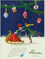 Avon Christmas advertisement for 1946